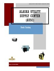alaska utility supply center - ANTHC