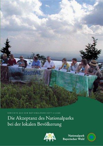 Suda - Studie: Die Aktzeptanz des Nationalparks bei der lokalen ...
