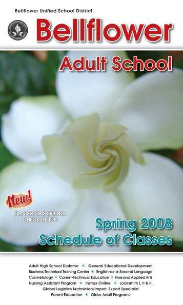 school Bellflower adult