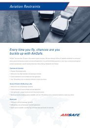 Product Sheet - AmSafe