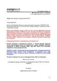 Tárgy: Nem működik a hőfogyasztásmérő -:) - Comptech Kft.