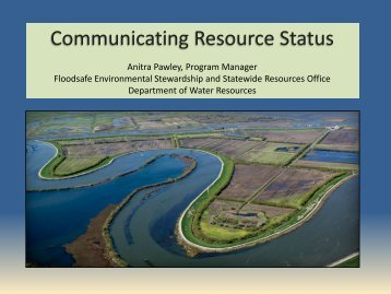 Assessments for Communicating Status of Resources