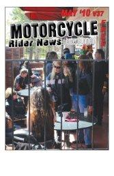 May 2010 - Motorcycle Rider News