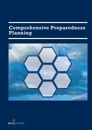 Comprehensive Preparedness Planning