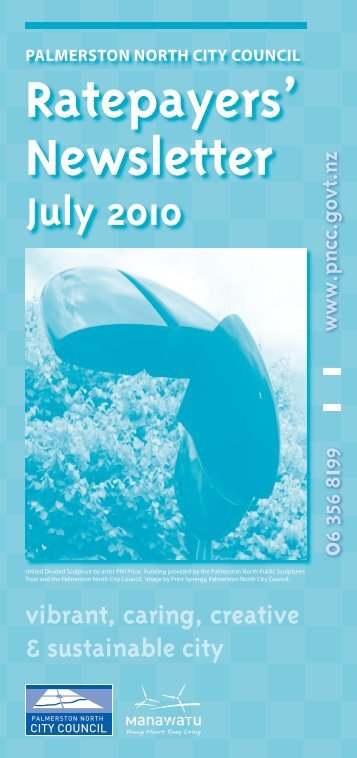 Rates Newsletter 2010 - Palmerston North City Council