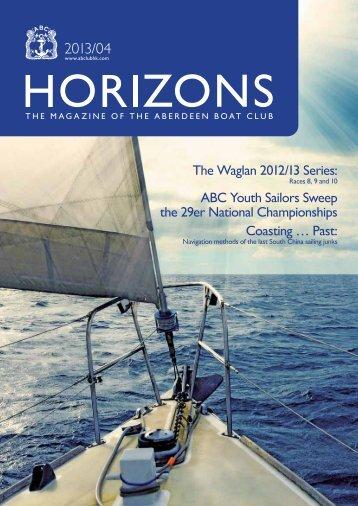 Apr 2013 Issue - the Aberdeen Boat Club