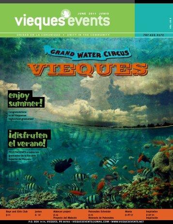enjoy summer! Â¡disfruten el verano! - Vieques Events