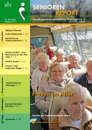 Frauen im Alter - Landesseniorenvertretung Thüringen