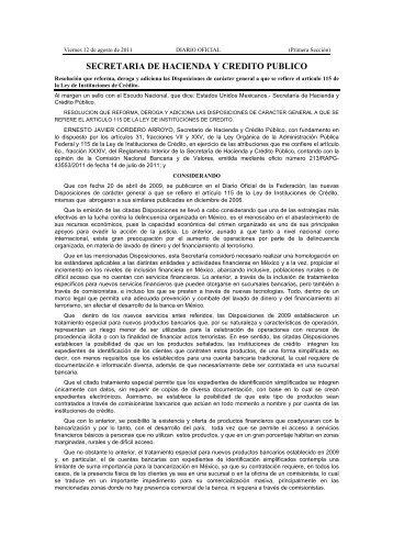 SHCP_12 Ago 11 - Instituto Mexicano de Contadores Públicos