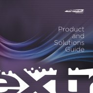 Products at a Glance - Extreme Networks