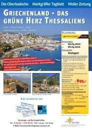 GRIECHENLAND - Globalis Erlebnisreisen GmbH