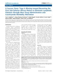 A Success Story - Global Alliance to Eliminate Lymphatic Filariasis