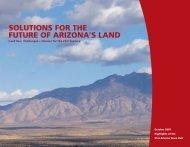 solutions for the future of arizona's land - Arizona Town Hall