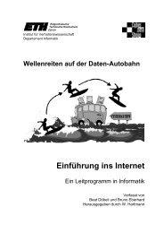 Wellenreiten auf der Daten-Autobahn - Eine Einführung ins Internet