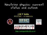 Neutrinos - ictp – saifr