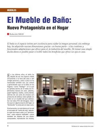 Muebles El Mueble de Baño: Nuevo Protagonista en el Hogar