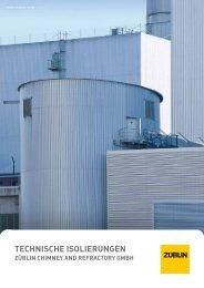 Broschüre Technische Isolierungen