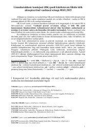 Linnuharulduste Komisjoni poolt käsitletavate liikide kõik ...