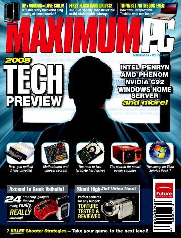 cover Holiday.indd - Maximum PC