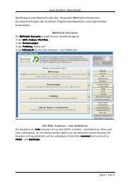BWAValid Screenshots mit Beschreibung - Deubner Recht & Praxis