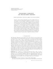 KOLMOGOROV COMPLEXITY AND THE RECURSION THEOREM ...