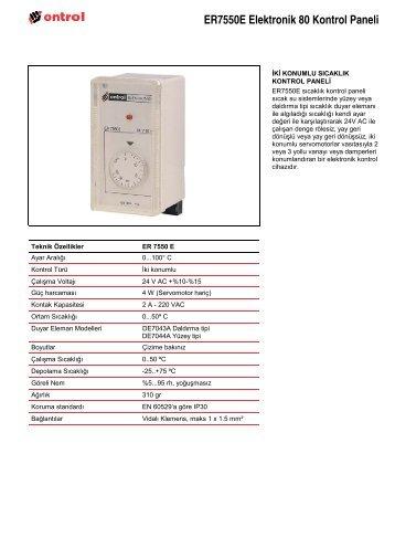 E80-E Teknik Katalog