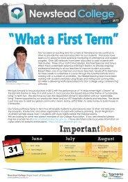 First Term - Tasmanian Academy