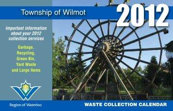 Township of Wilmot - Region of Waterloo