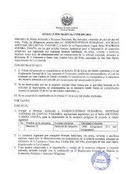 RESOLUCIÓN MARN-No 17298-851-2011. - Ministerio de Medio ...