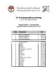 Ergebnislisten Kreisjugendfeuerwehrtag 2008 - KFV-OSL
