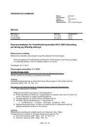 Kommunedelplan for Fredrikstad byområde 2011-2023 Utsending ...