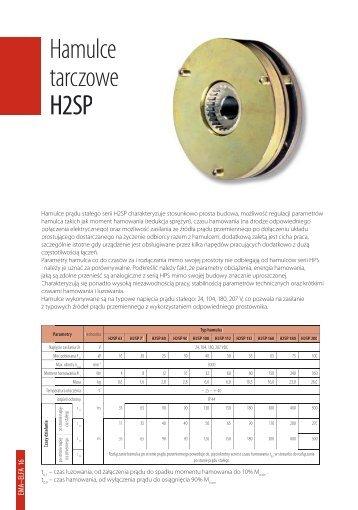 Hamulce tarczowe H2SP - Cantoni Group