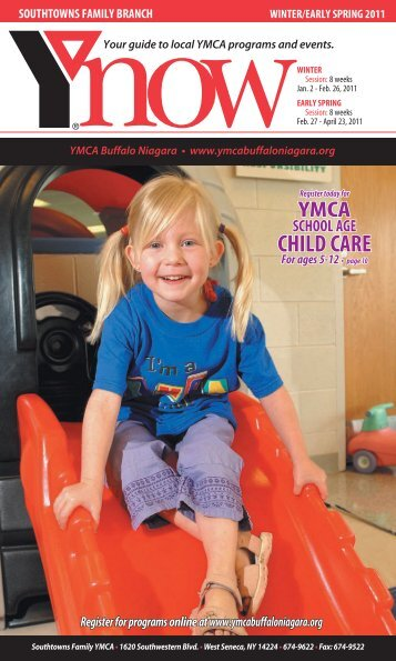 preschool programs - YMCA Buffalo Niagara