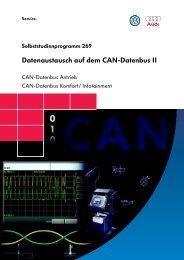 ssp269 Datenaustausch auf dem CAN-Datenbus II
