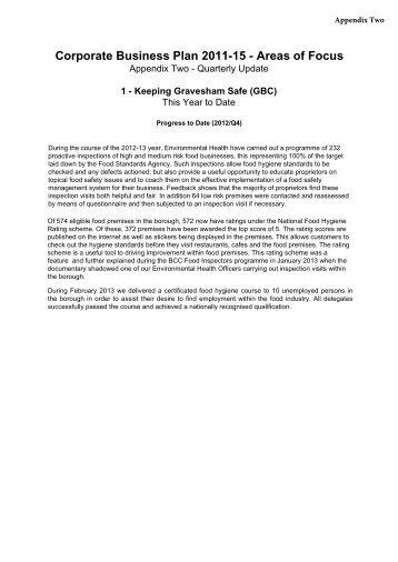 Appendix Two - Q4 Performance Report , item 4. PDF 3 MB