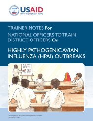 (HPAI) Outbreaks - Avian and Pandemic Influenza Resource Link