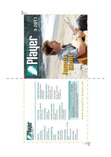 DVD-Cover Ausgabe 3-2011 - ACOUSTIC PLAYER