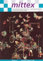 Die Fachzeitschrift für textile Garn- und F ... - Dornbirn-MFC
