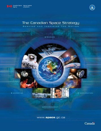 "Canadian Space Agency - ""Strategy"" Brochure"