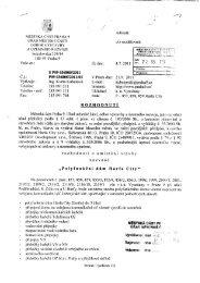ÚŘAD MĚSTSKÉ: ČÁSTI viz rozdělovník - Praha 9