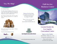 Business Center - RIMS