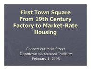 First Town Square.pdf - Connecticut Main Street Center