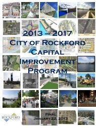2017 Capital Improvement Plan - the City of Rockford