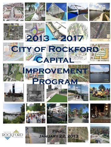 2017 Capital Improvement Plan - the City of Rockford