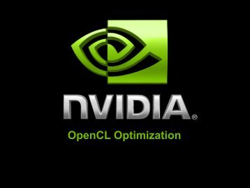 OpenCL Optimization