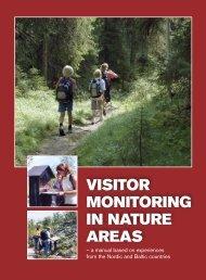 VISITOR MONITORING IN NATURE AREAS – a ... - Naturvårdsverket