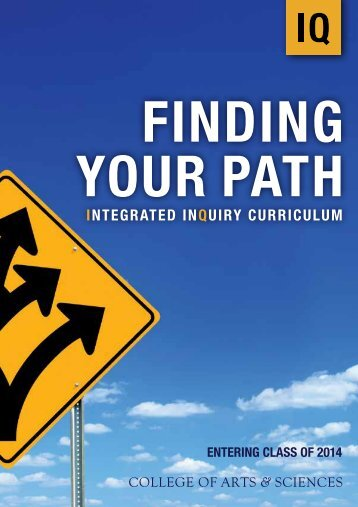 INTEGRATED INQUIRY CURRICULUM - Publications