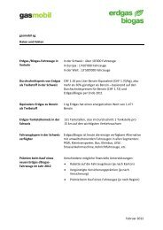Beilagen zur Pressemitteilung 82. Int ... - Erdgasfahren