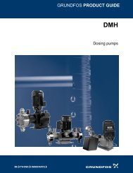 GRUNDFOS PRODUCT GUIDE