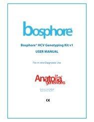 Bosphore® HCV Genotyping Kit v1 USER MANUAL - LAB MARK
